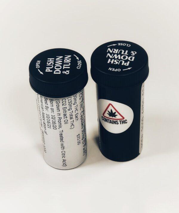 slatter THC Capsules 30mg (5)