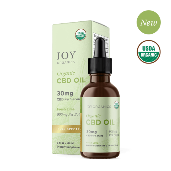 Fresh Lime Oil Tincture Organic CBD Full Spectrum