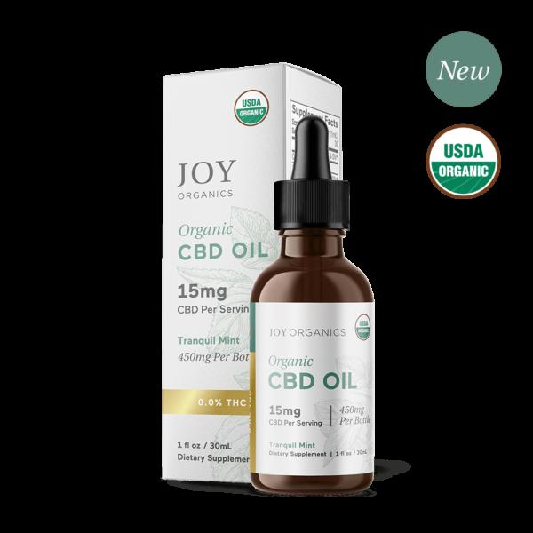 Tranquil Mint Oil Tincture Organic CBD Broad Spectrum