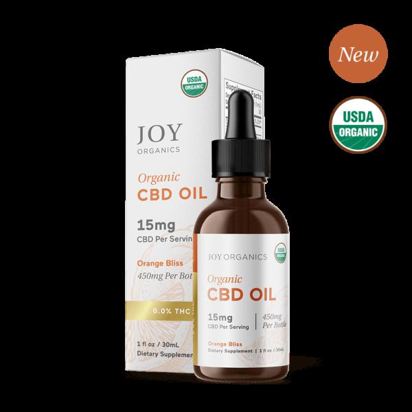 Orange Bliss Oil Tincture Organic CBD Broad Spectrum
