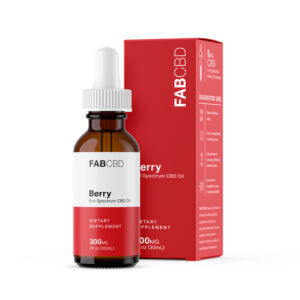 FAB CBD Oil Berry Flavor