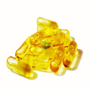 25mg THC Capsules – THC Extract in MCT Oil (20 Pack)