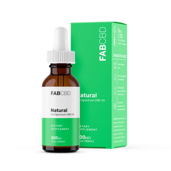 FAB CBD Oil Natural Flavor
